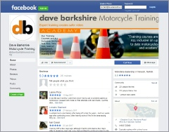 DB Motorcycle Training Facebook