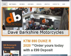 Dave Barkshire Motorcycles web