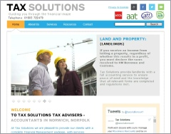 Tax Solutions website